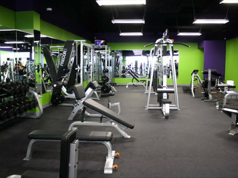 Anytime Fitness: 205 W Harcourt Rd, Angola, IN