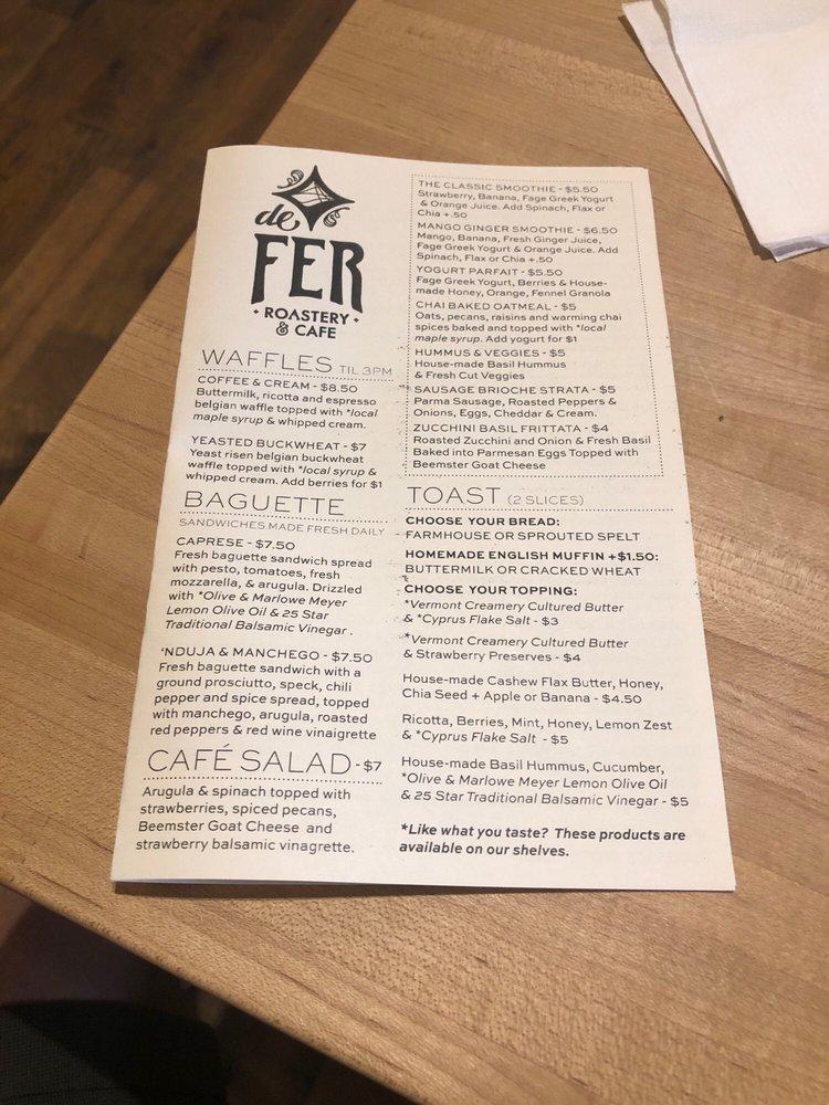 De Fer Coffee & Tea - 2002 Smallman St, Strip District
