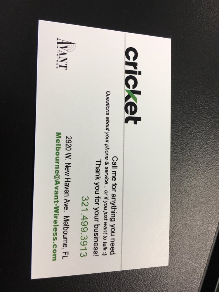 Business card yelp photo of cricket wireless authorized retailer melbourne fl united states business card colourmoves