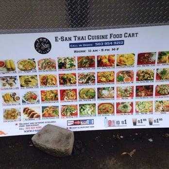 E San Thai Food Cart