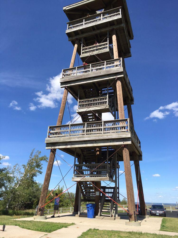 Joseph N Nicollet Tower & Interpretive Center: 45356 Sd Highway 10, Sisseton, SD