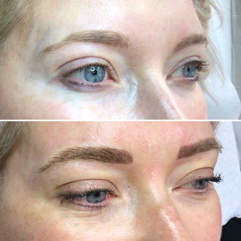 The Look Studio Eyebrow Feathering Microblading 42 Photos