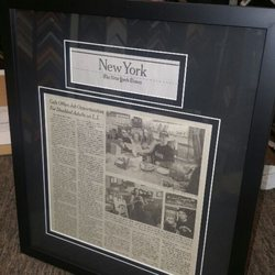 photo of jimmys custom framing manhattan ny united states