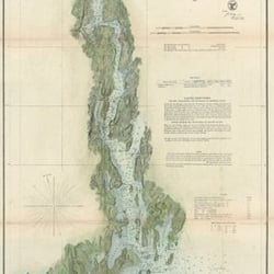 Photo Of Galeyrie Maps Custom Framers Falmouth Me United States Kennebec