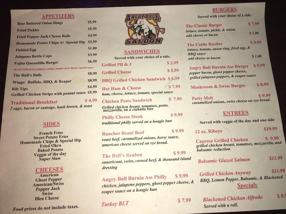 Angry Bull Saloon: 2036 E Oklahoma Blvd, Alva, OK
