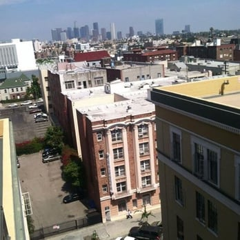 Photo Of The Langham Apartments Los Angeles Ca United States Rooftop Views
