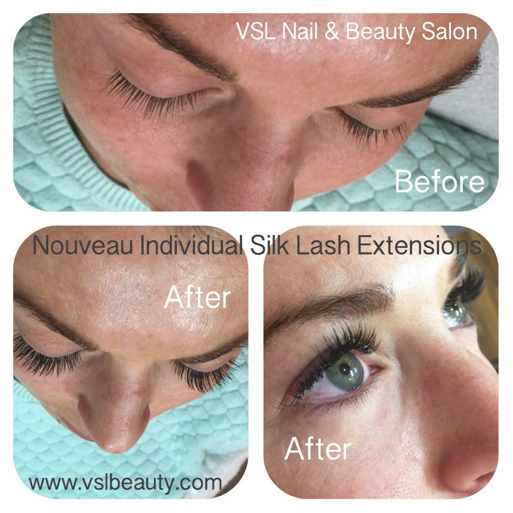 Nouveau Individual Silk Lash Extensions 70 Appointment Time 2