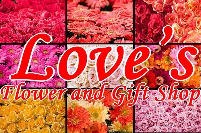 Love's Flower & Gift Shop: 205 Quay St, Dardanelle, AR