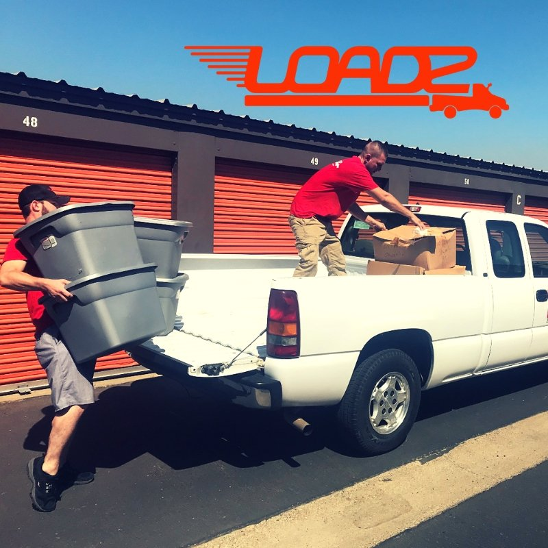 Photo of Loadz - Modesto, CA, United States. Loadz - Storage Unit Pickup and Delivery