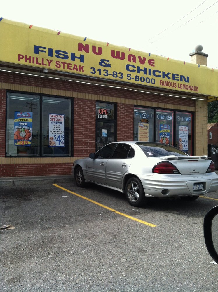 Nu wave fish chicken kippenvleugels 14541 w for Wave fish and chips
