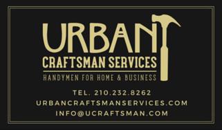 Urban Craftsman Services: San Antonio, TX