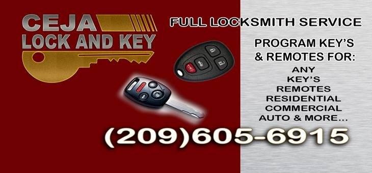 Ceja Lock and Key: 120 E Hatch Rd, Modesto, CA