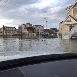 Photo Of Long Beach Island Surf City Nj United States Flooding After