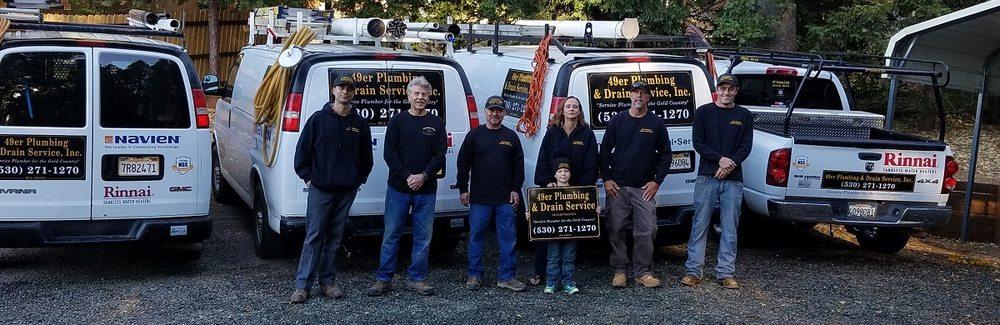 49er Plumbing & Drain: 14142 Colfax Hwy, Grass Valley, CA