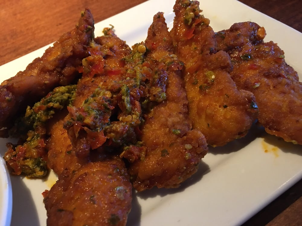 Spicy calabrian chicken tenders yelp - Olive garden reservations policy ...