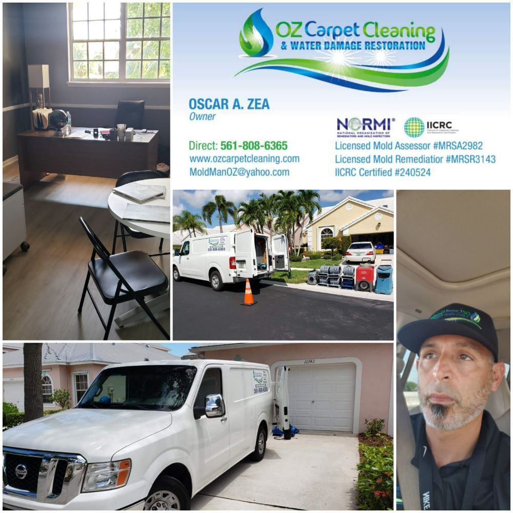 OZ Carpet Cleaning & Water Damage Restoration