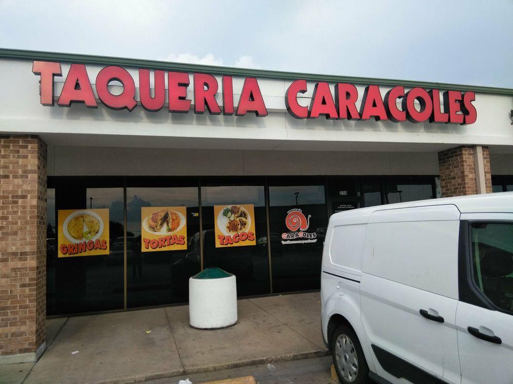Taqueria Caracoles: 11411 Northwest Hwy, Dallas, TX