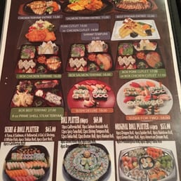 East Japanese Restaurant - West Nyack, NY, United States. Bento box menu