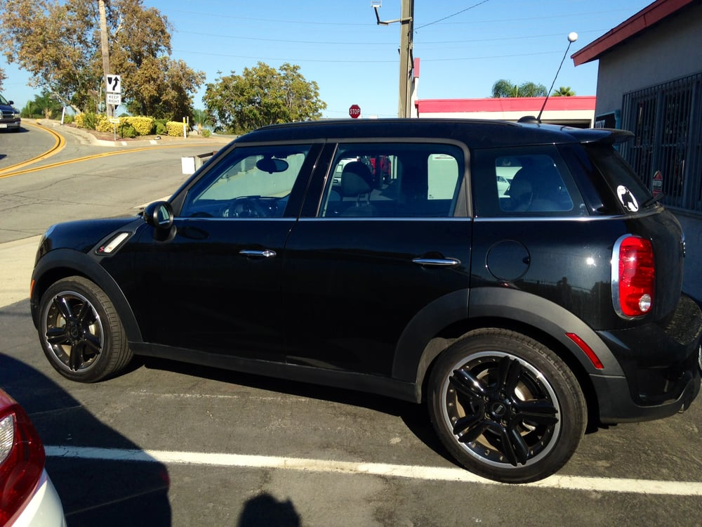 2014 mini cooper countryman tinted with 3m crystalline. Black Bedroom Furniture Sets. Home Design Ideas