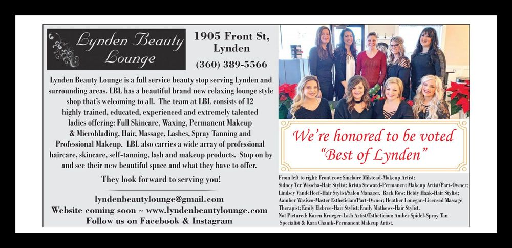 Lynden Beauty Lounge: 1905 Front St, Lynden, WA