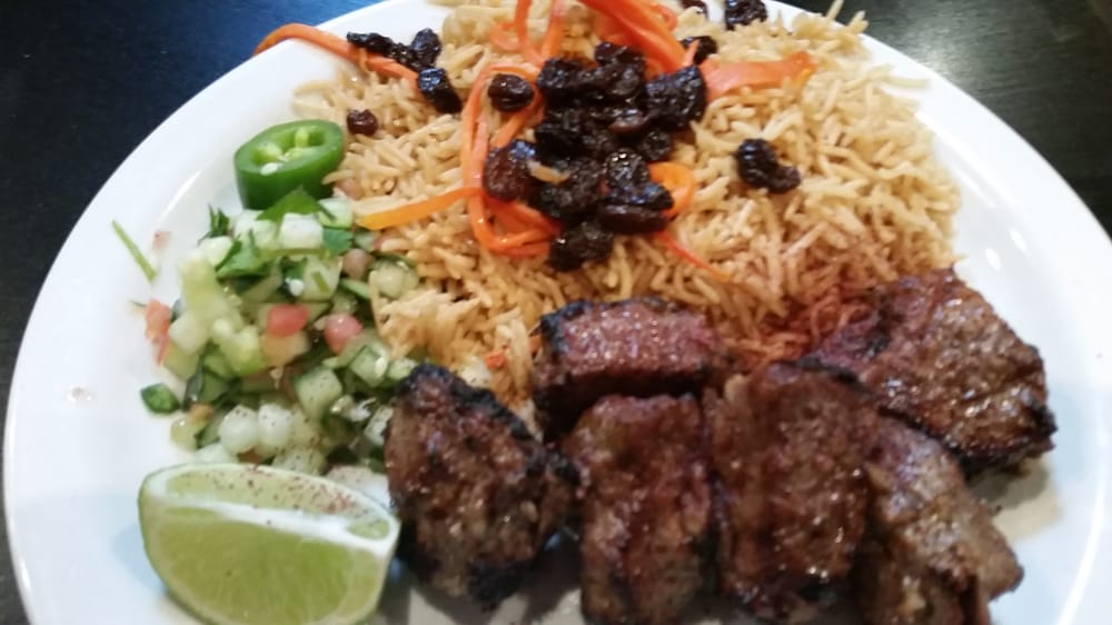Beef kebob plate yelp for Afghan cuisine fremont