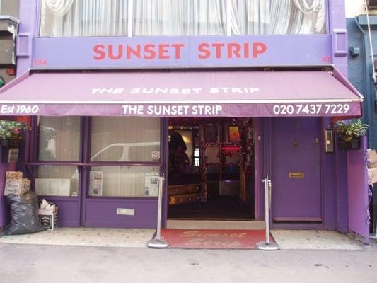 Sunset strip dean street