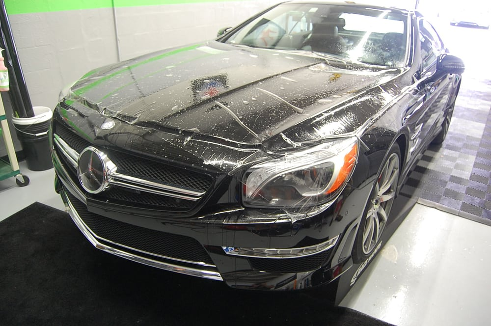 Mercedes Sl 65 Black Finish With Flawless Full Front
