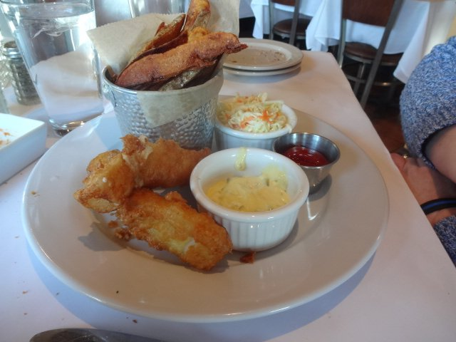 Fish Chips Lunch At Johns Cafe In Woodbury Ct Yelp