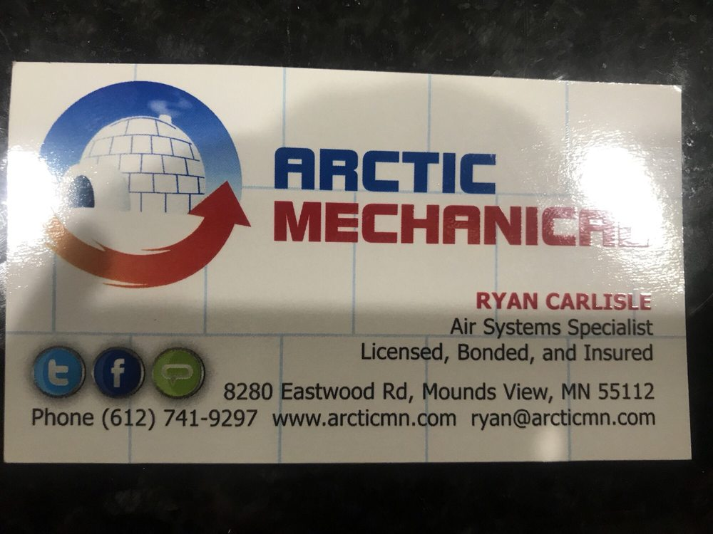 Arctic Mechanical: 8280 Eastwood Rd, Mounds View, MN
