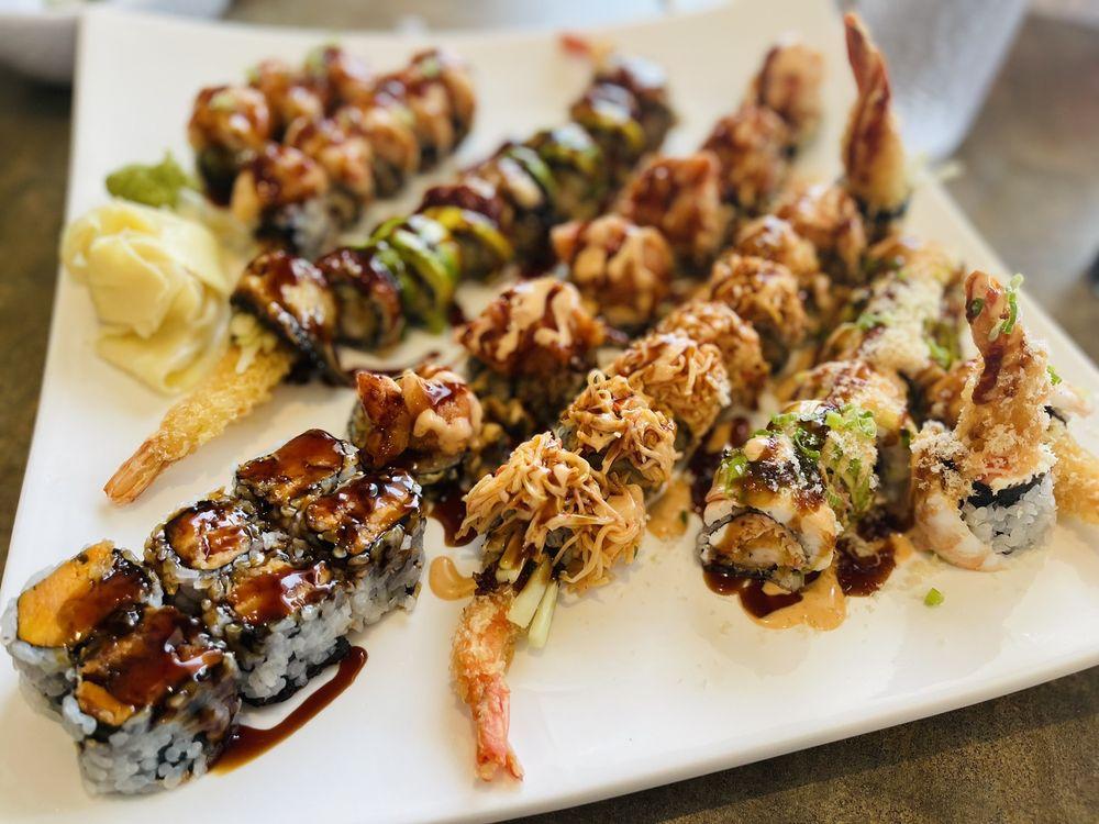 Lucky Tea & Sushi Cafe: 1705 S Beacon Blvd, Grand Haven, MI