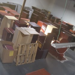 united states entire warehouse full of new and used office furniture