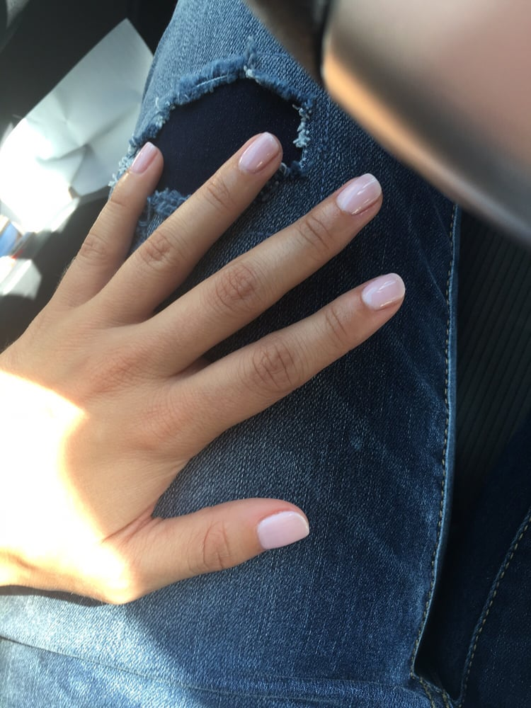 Gel Manicure from Legend Nails! I love love love this neutral color ...