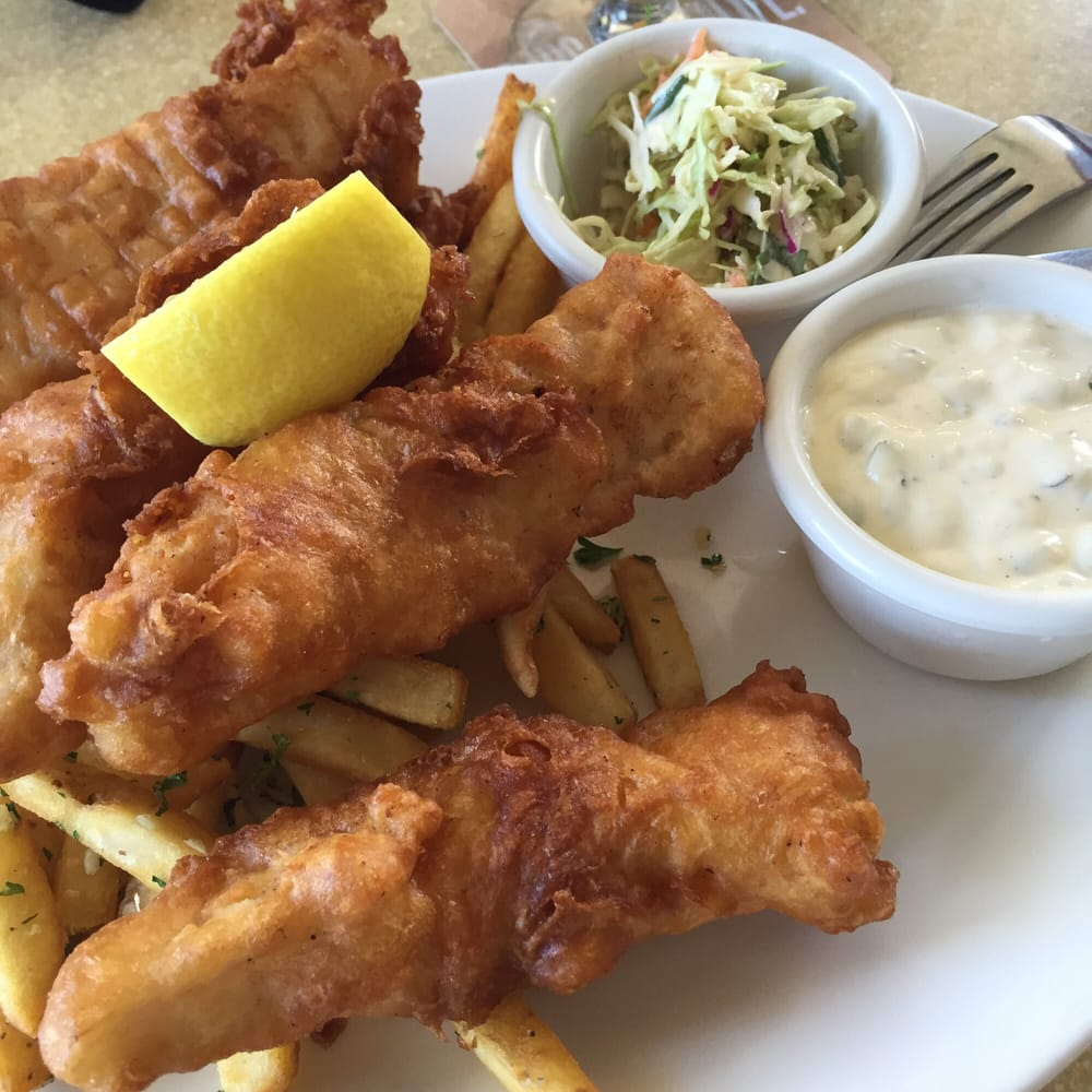Beer battered fish and chips yelp for Fish delivery near me