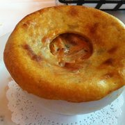 Smoked Chicken Pot Pie With Sweet Potato Crust