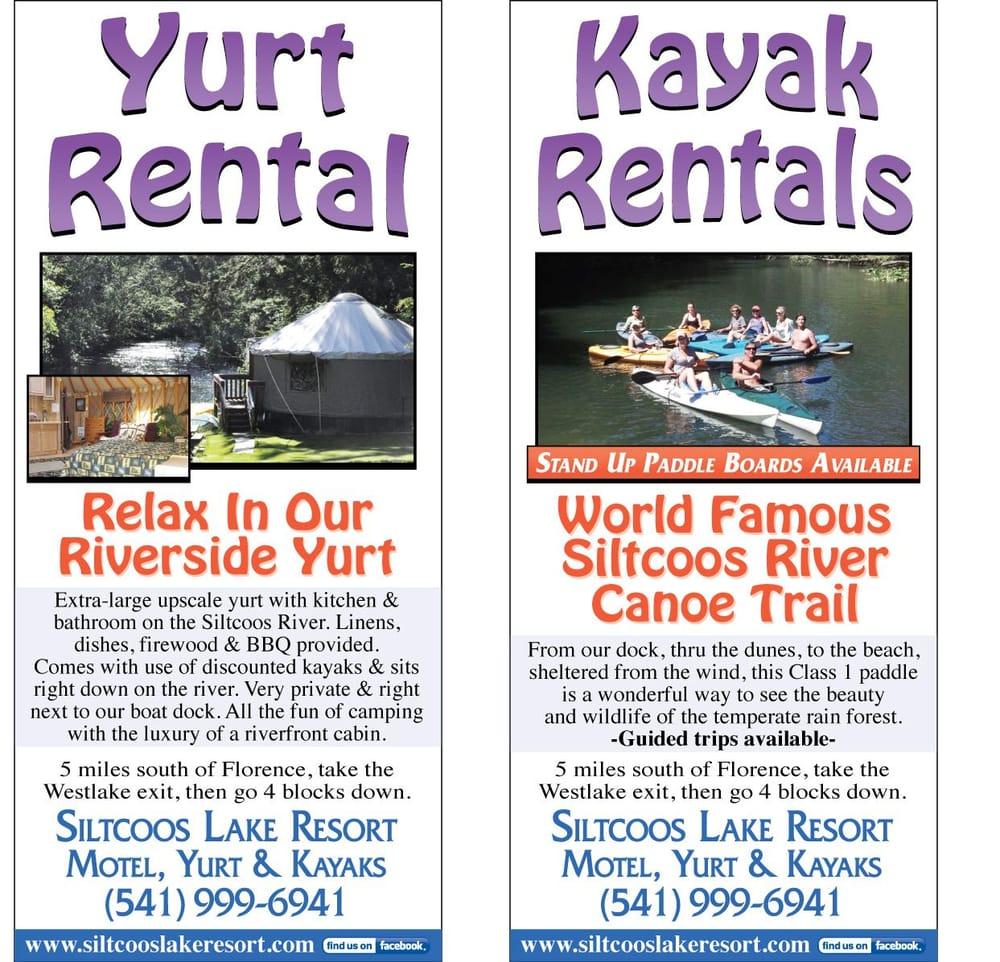 Siltcoos Lake Resort & Motel: 82855 Fir St, Westlake, OR