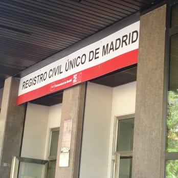 Registro civil nico de madrid servicios p blicos calle de pradillo 66 chamart n madrid - Telefono registro bienes muebles madrid ...