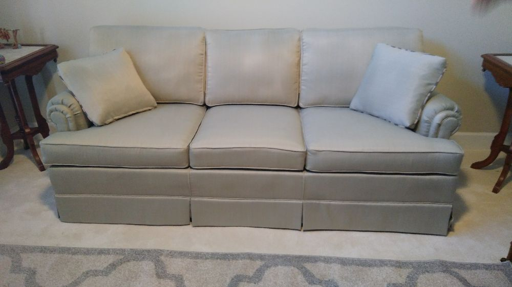 Sofa With Semi Attached Back Cushions Completed Jan 2018 Yelp