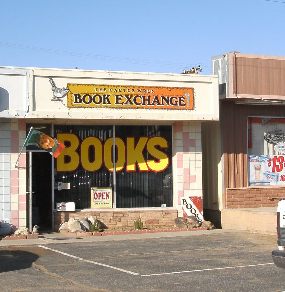 Cactus Wren Book Exchange