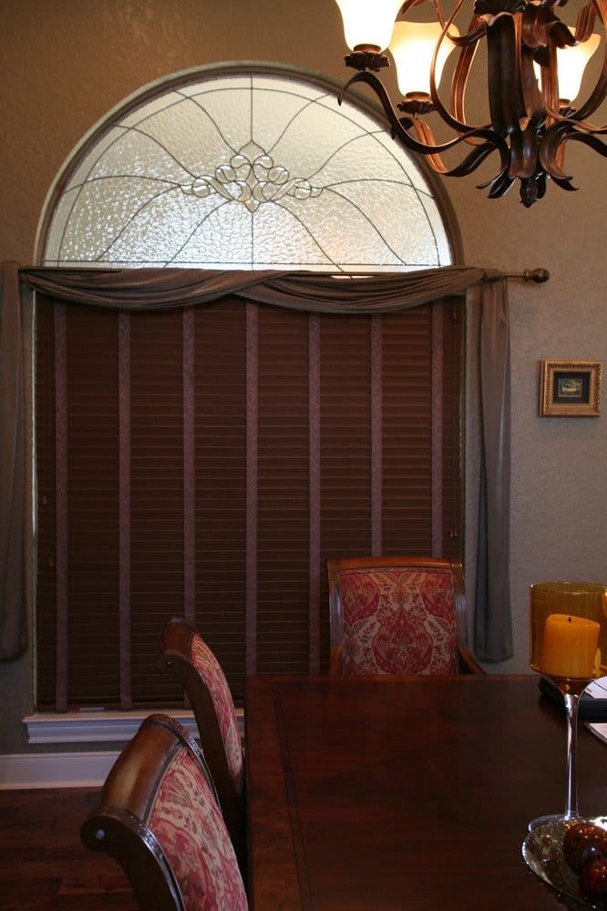 You Can Get Real Or Faux Wood Blinds With Cloth Tape As