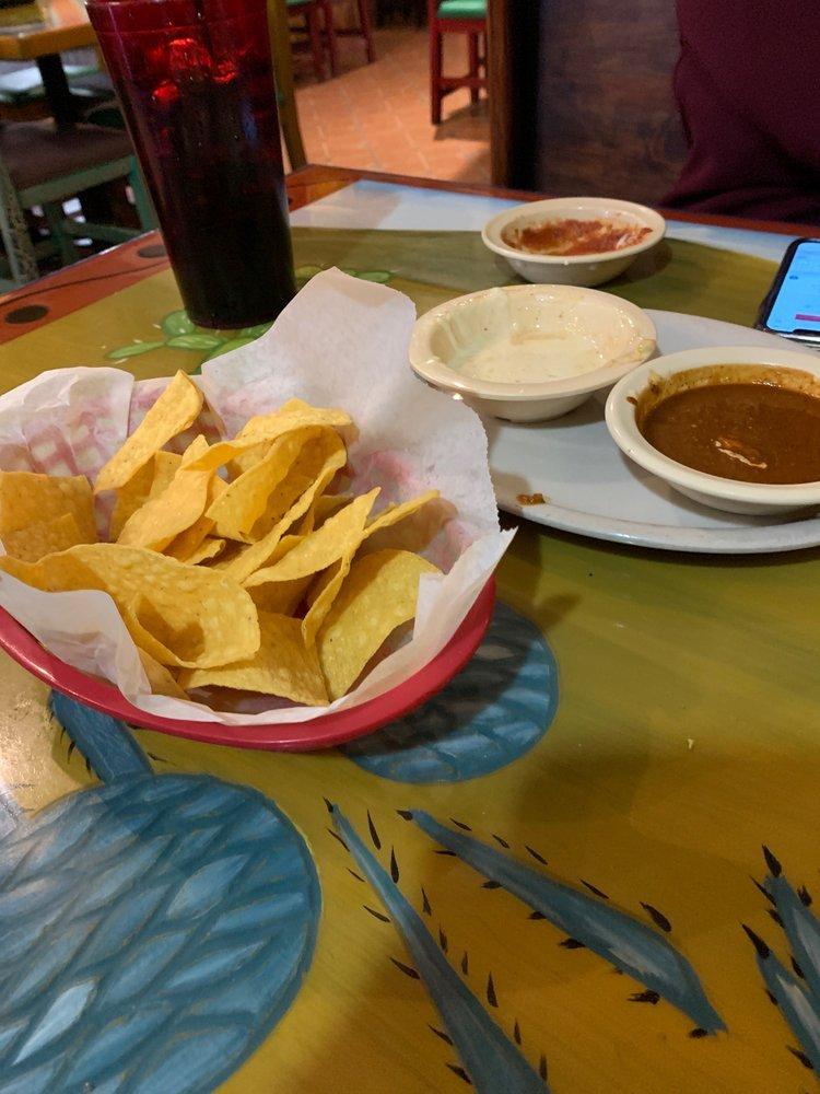 Food from El Patio