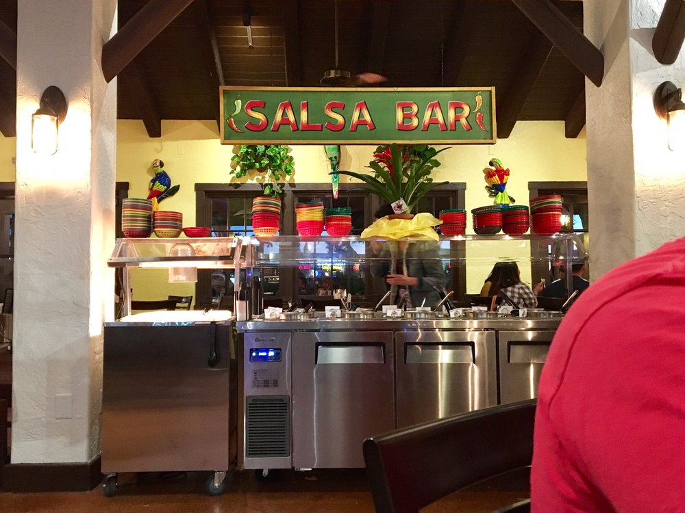Yummy salsa bar with a good variety! - Yelp