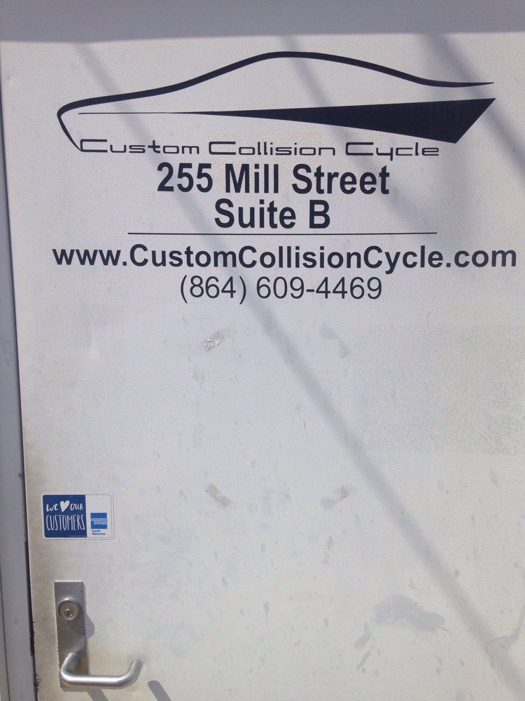 Custom Collision Cycle: 255 Mill St, Taylors, SC