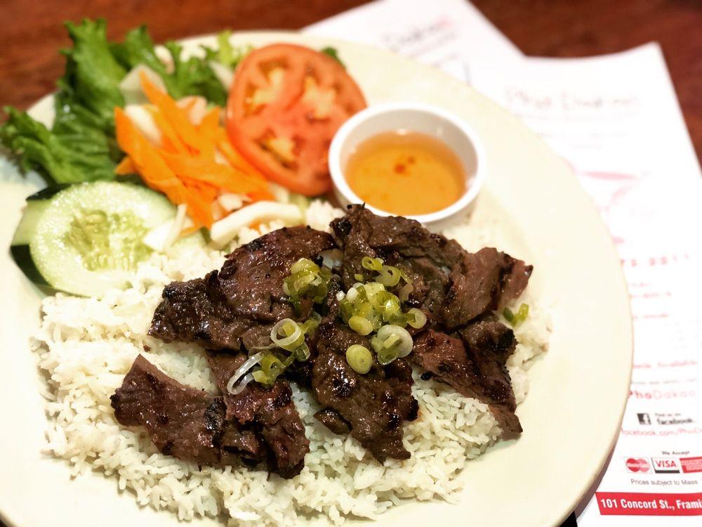 Food from Pho Dakao