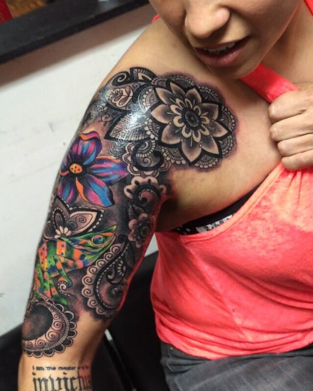 My latest session with the one and only brown nevarez for Tattoos san antonio tx