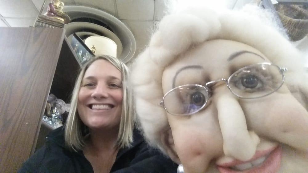 Old lady selfie
