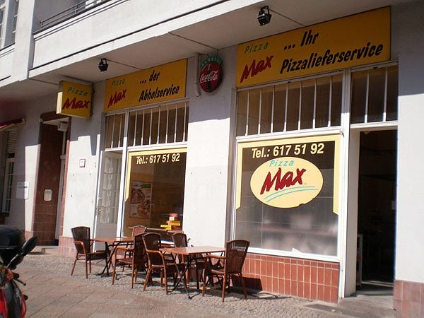 pizza max pizzerie schlesische str 29 30 kreuzberg berlino berlin germania ristorante. Black Bedroom Furniture Sets. Home Design Ideas