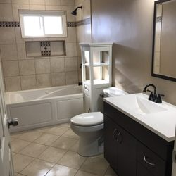 Photo Of Buckeye Property Renovations   Columbus, OH, United States. After Bathroom  Remodel ...