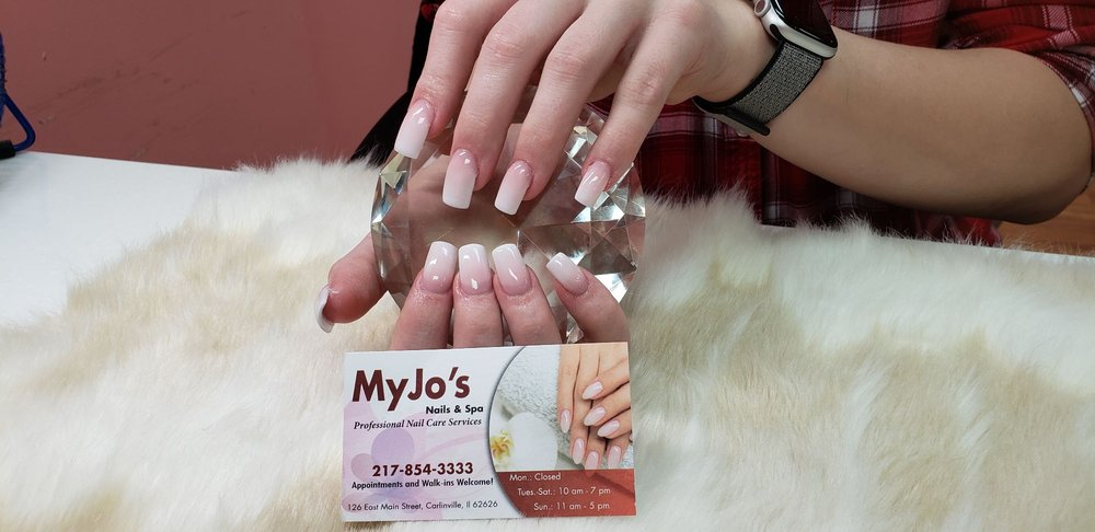 Myjo's Nails & Spa: 126 E Main St, Carlinville, IL