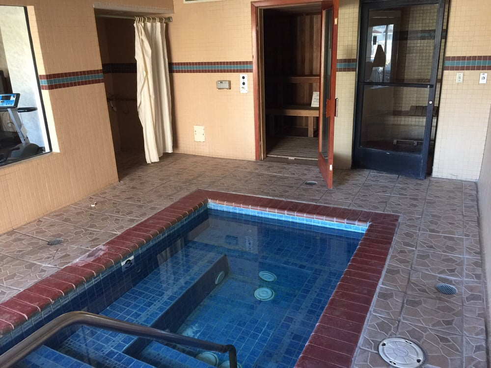 Indoor jacuzzi and steam room! - Yelp