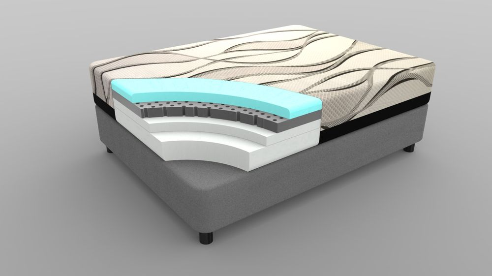 Cool Jewel Gel Infused Memory Foam Mattress Cut Out Yelp